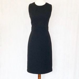 Banana Republic Monogram Collection Black Dress